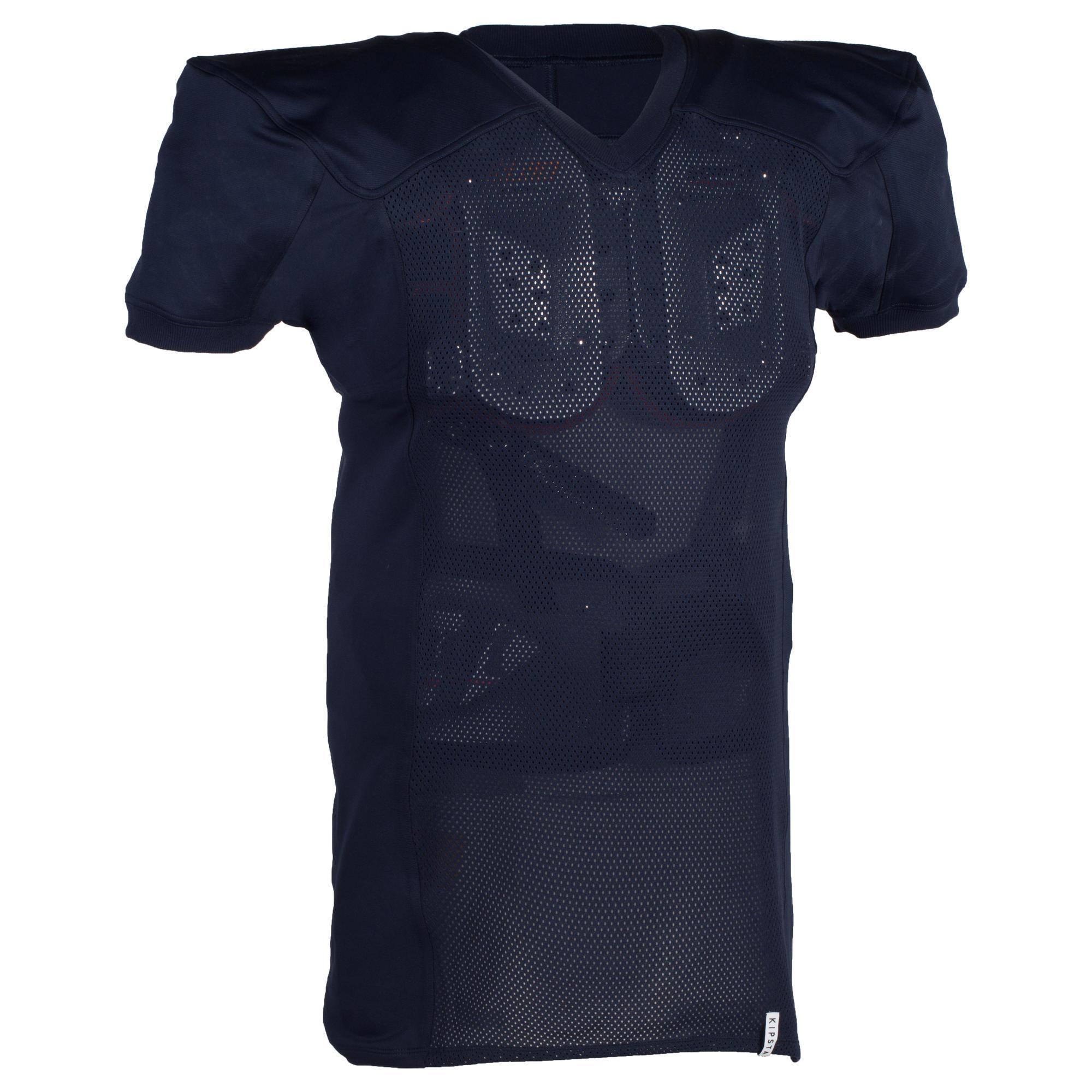 Kipsta Shirt American football AF 550 voor volwassenen blauw