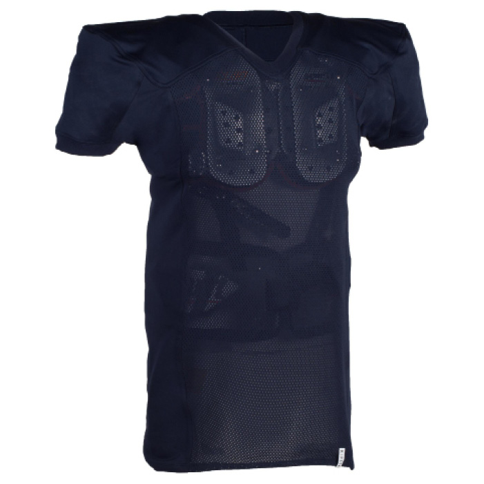 Shirt American football AF 550 voor volwassenen blauw