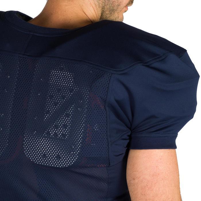 Trikot American Football AF 550 Erwachsene blau