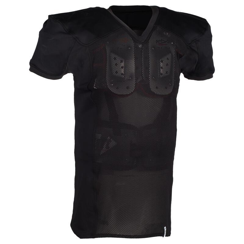 BluzăFotbal american AF 550 negru adulți