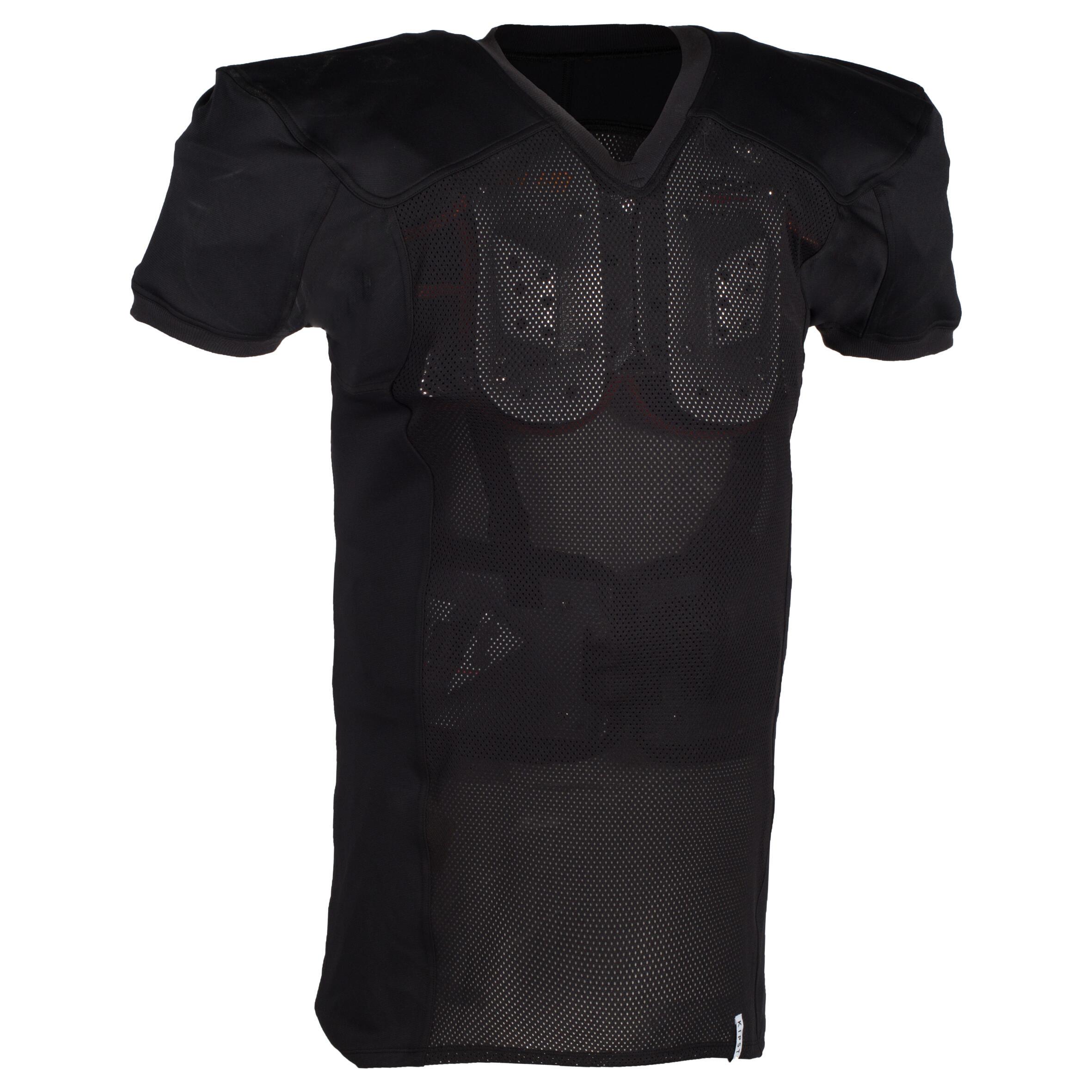 Kipsta Shirt AF 550 voor volwassenen zwart