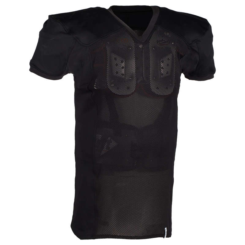 AMERICAN FOOTBALL American Football - AF 550 Jersey - Black KIPSTA - Sports