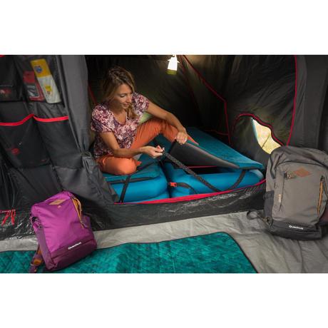 sommier lit de camp gonflable camp bed air 70 1 pers. Black Bedroom Furniture Sets. Home Design Ideas