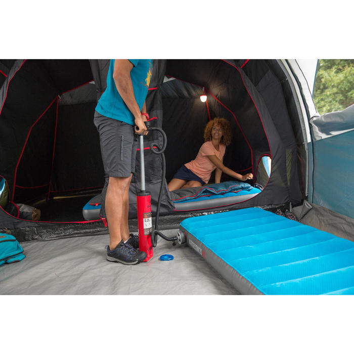 MATELAS DE CAMPING GONFLABLE AIR SECONDS | 2 PERSONNES - LARGEUR 140 CM