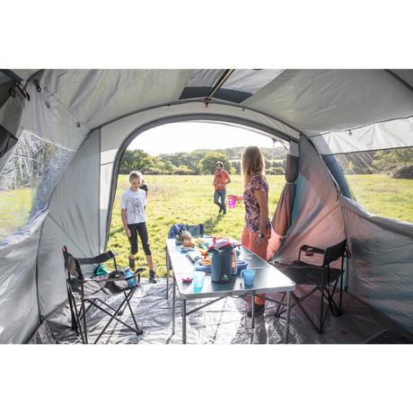 table xl de camping 6 8 personnes quechua. Black Bedroom Furniture Sets. Home Design Ideas