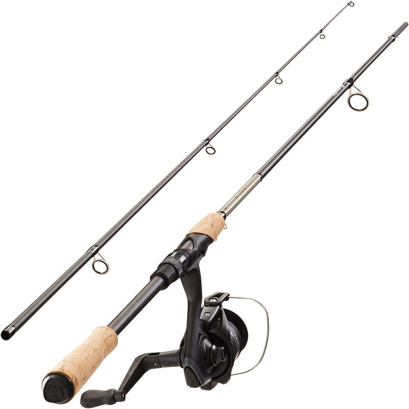 CANNE E COMBO SPINNING MEDIO Pesca - Set WIXOM-1 240 MH CAPERLAN - Pesca a spinning