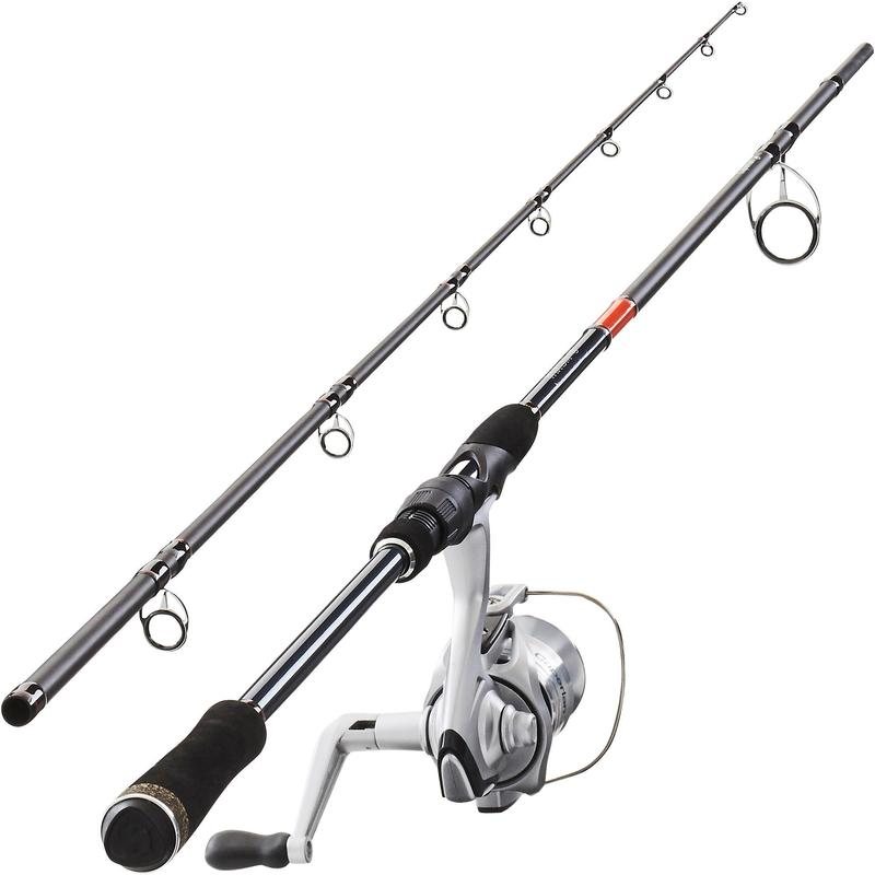 Combo Caña y Carrete Pesca Spinning WIXOM-5 240 30-60gr