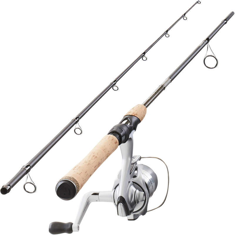 CANNE E COMBO SPINNING MEDIO Pesca - Set WIXOM-5 210 MH CAPERLAN - Pesca a spinning