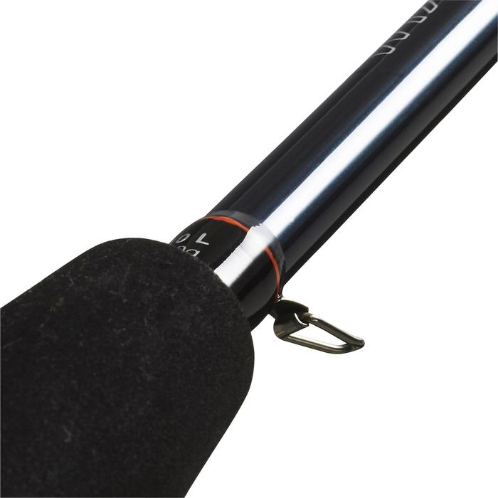 Hengel voor kunstaashengelen op roofvis Wixom-5 210 L zwart (2/10 g)
