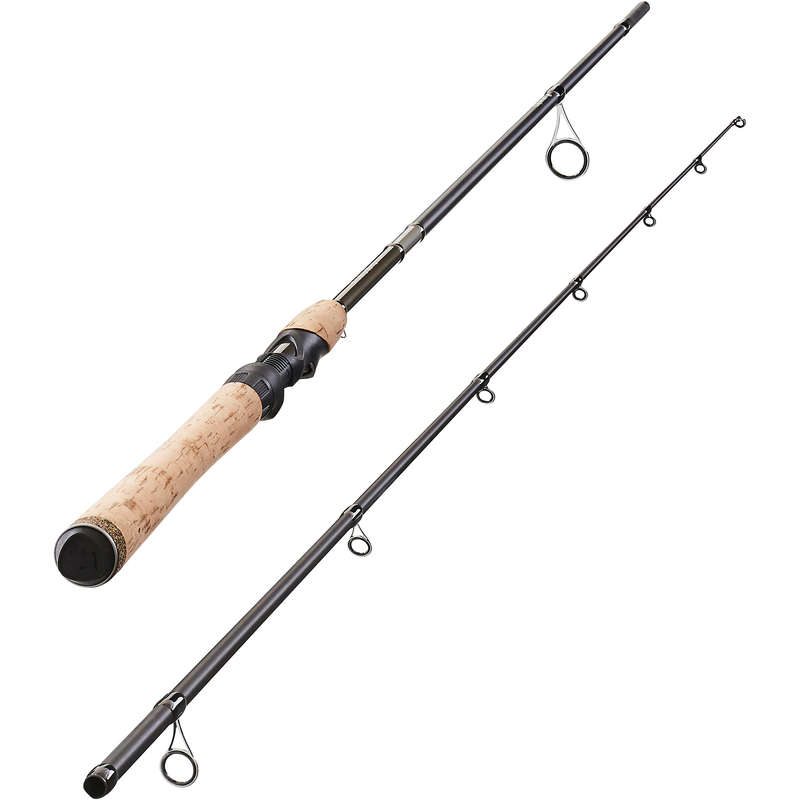 CANNE E COMBO SPINNING MEDIO Pesca - Canna WIXOM-5 240 MH marrone CAPERLAN - Pesca a spinning