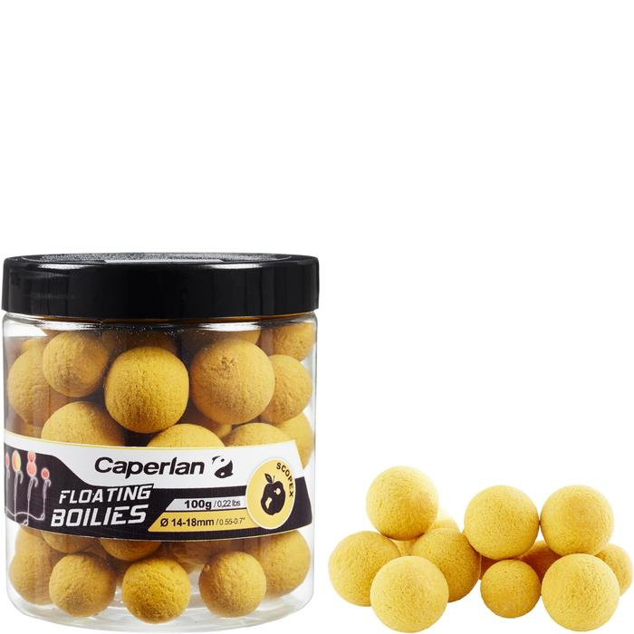 Drijvende boilies voor karpervissen Scopex Yellow 100 g 14 en 18 mm
