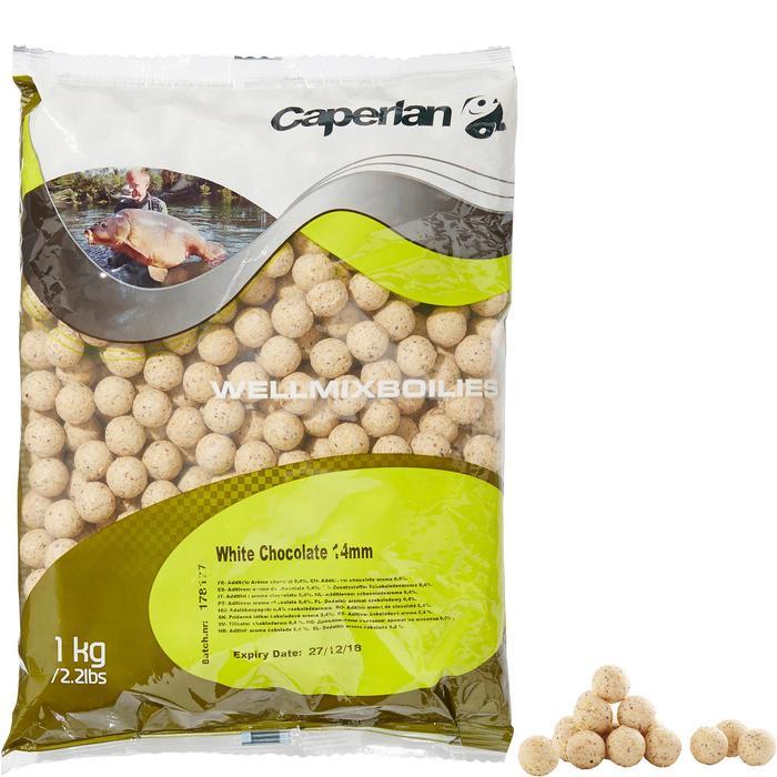 Boilies voor karpervissen Wellmix 14 mm witte chocolade 1 kg - 1320633