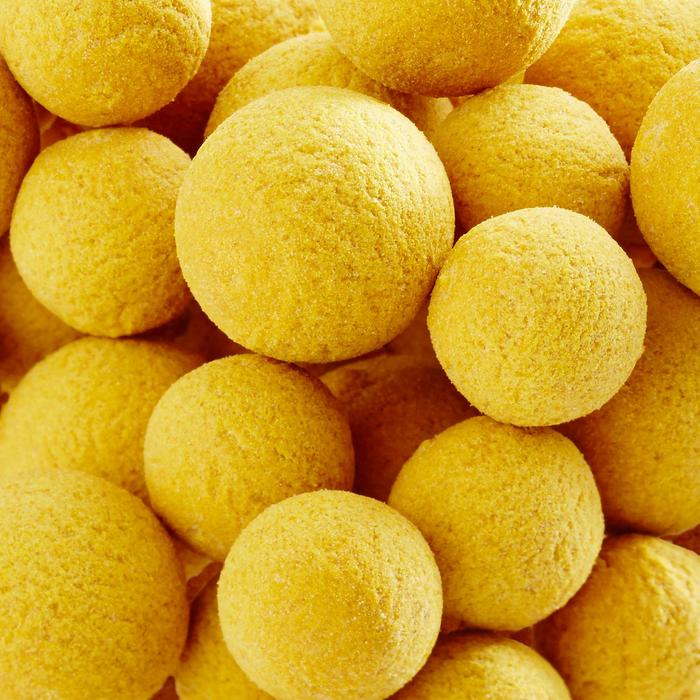 BOILIES FLOTANTES PESCA DE LA CARPA SCOPEX YELLOW 100 g 14 y 18 mm