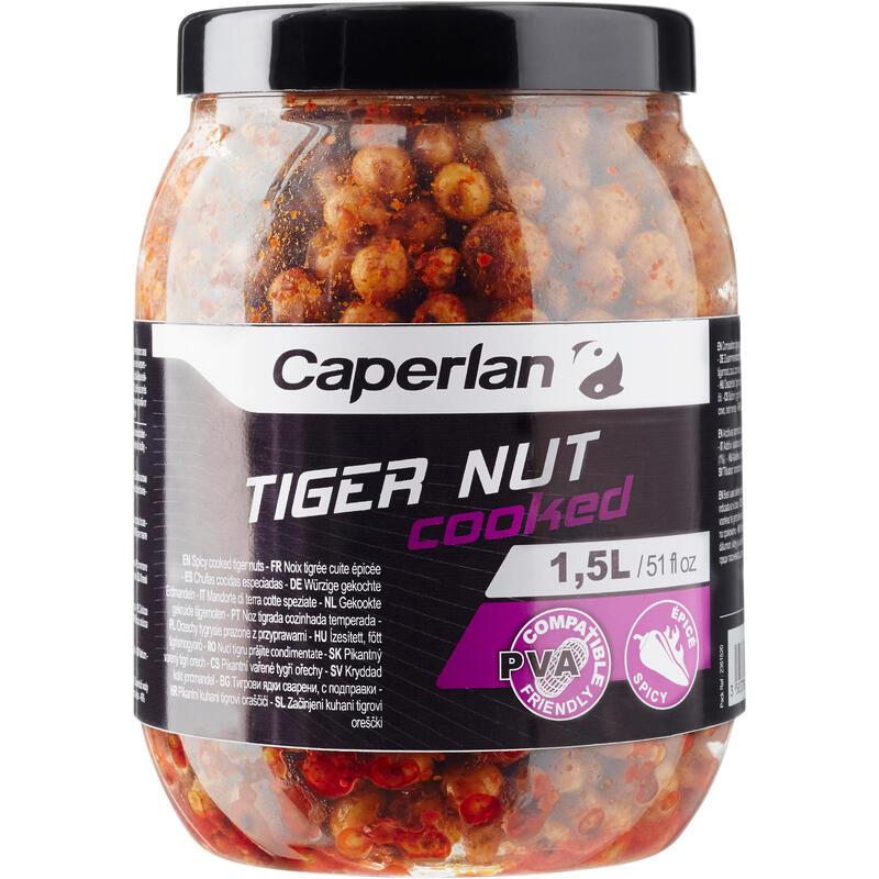 Gekookte tijgernoten voor karpervissen Spicy