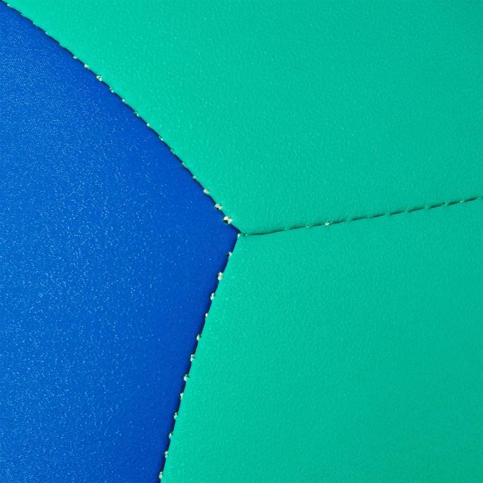 Volleyball V100 Kunstlederball blau/grün
