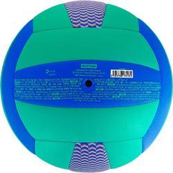 排球V100-藍色/綠色