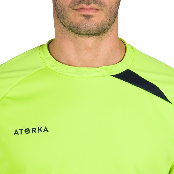 Torwarttrikot H500 Handball Erwachsene gelb/schwarz