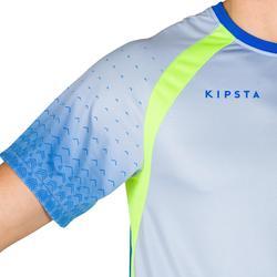 Camiseta de voleibol para hombre V500 azul y verde