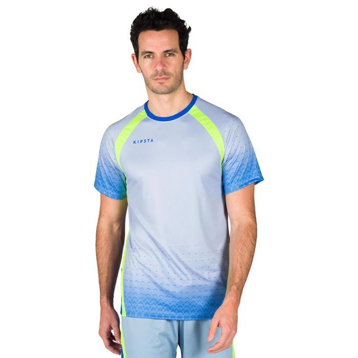 Volleyballtrikot V500 Herren blau/grün