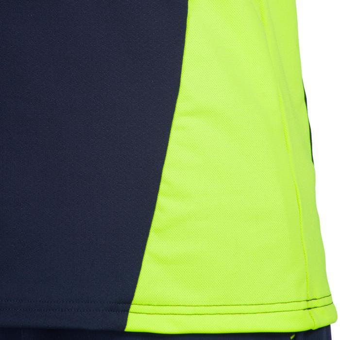 Maillot de hockey sur gazon homme FH500 bleu et jaune