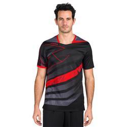 Handbalshirt voor heren H500 zwart / rood