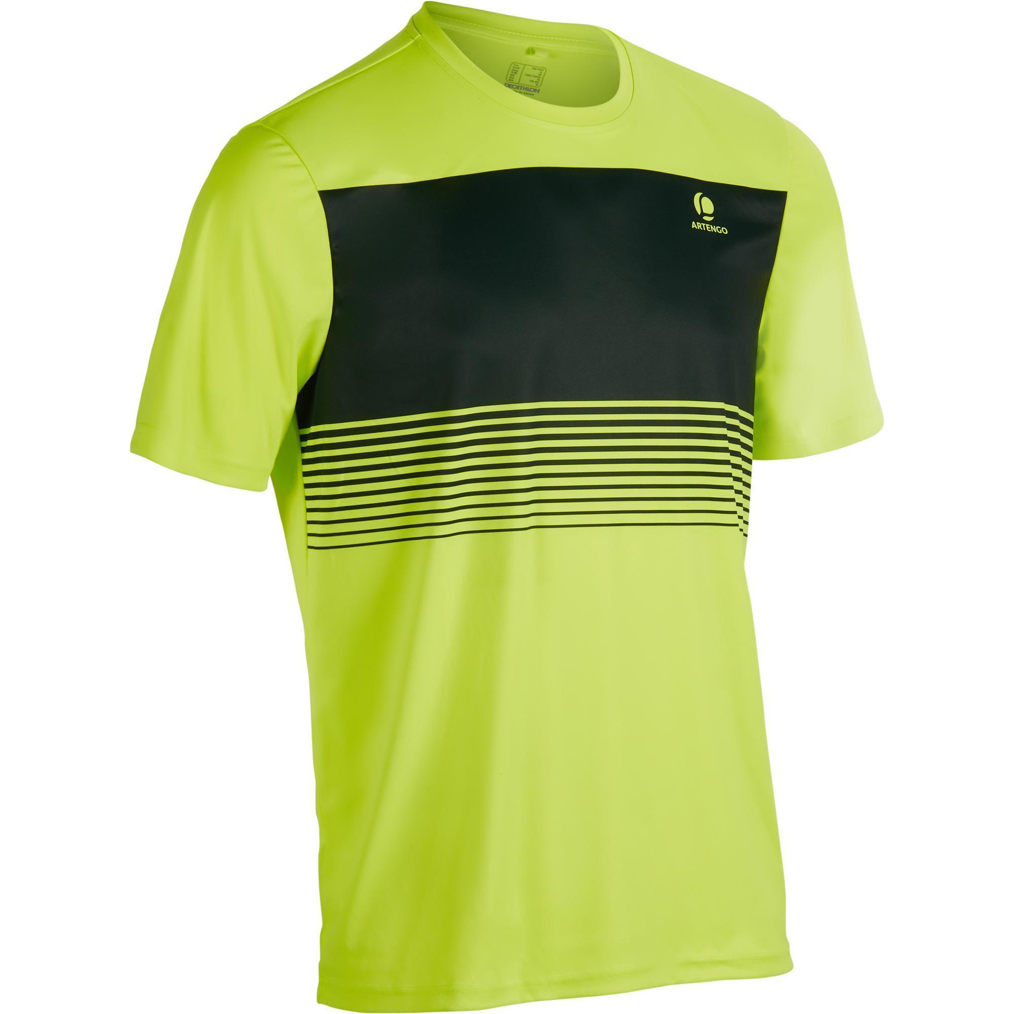 Soft 100 Tennis T-Shirt - Neon Yellow | artengo