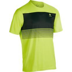 T-Shirt Soft 100 Tennis Herren neongelb