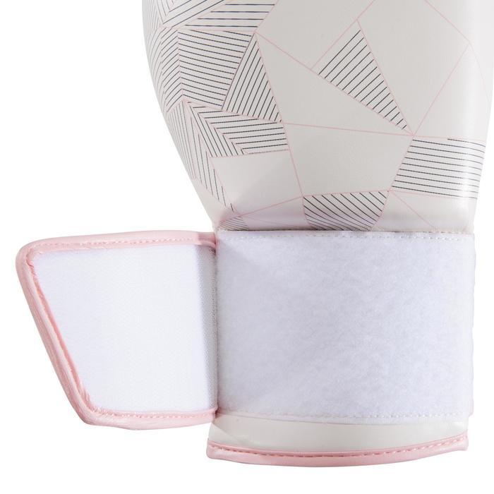 gants de boxe 300 blancs , gants d'entraînement débutant homme ou femme - 1320854