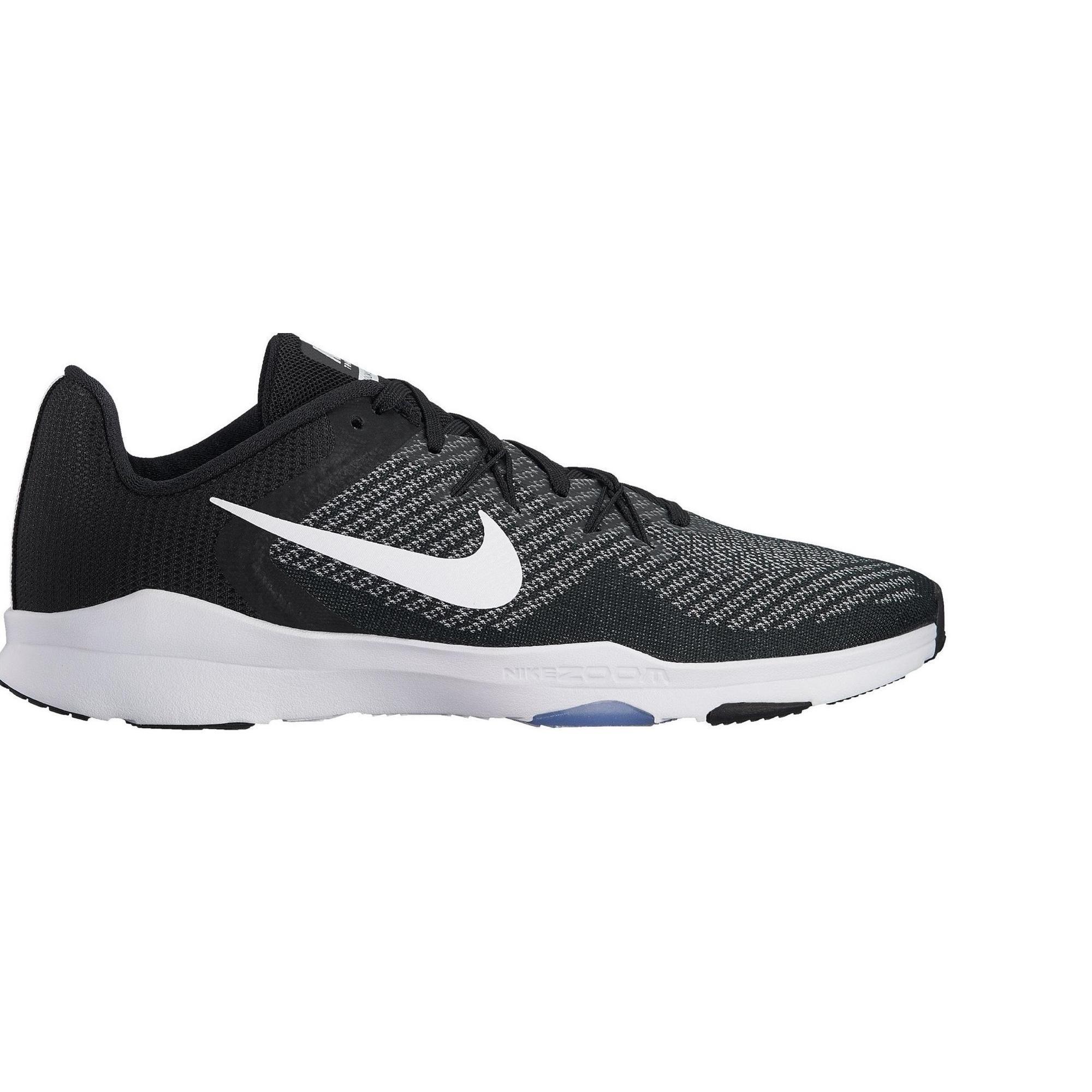 2409136 Nike Cardiofitness schoenen Nike Zoom Condition voor dames zwart en wit.
