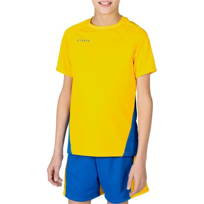 Maillot de volley-ball garçon V100 bleu et - 1320924