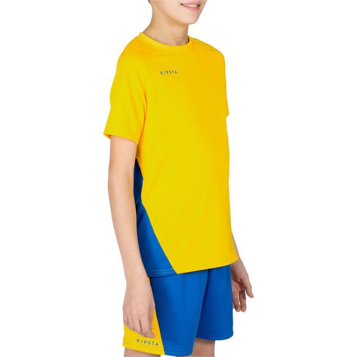Maillot de volley-ball garçon V100 bleu et - 1320925