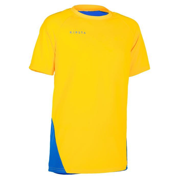 Maillot de volley-ball garçon V100 bleu et - 1320926