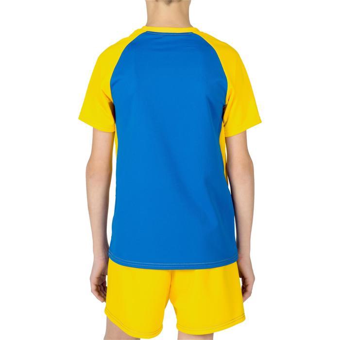 Maillot de volley-ball garçon V100 bleu et - 1320927
