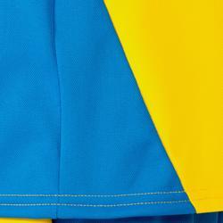 Volleyballtrikot V100 Kinder gelb/blau