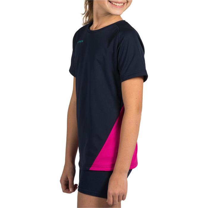 Maillot de volley-ball fille V100 bleu et - 1320931