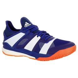 Zapatillas de Balonmano Adidas Stabil X Boost Hombre Azul Blanco