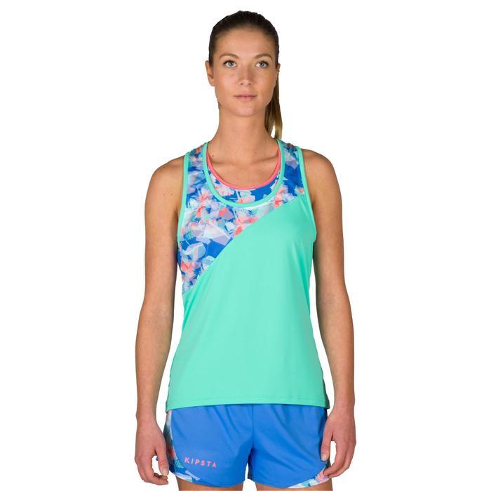 Débardeur de beach-volley femme BV 500 vert