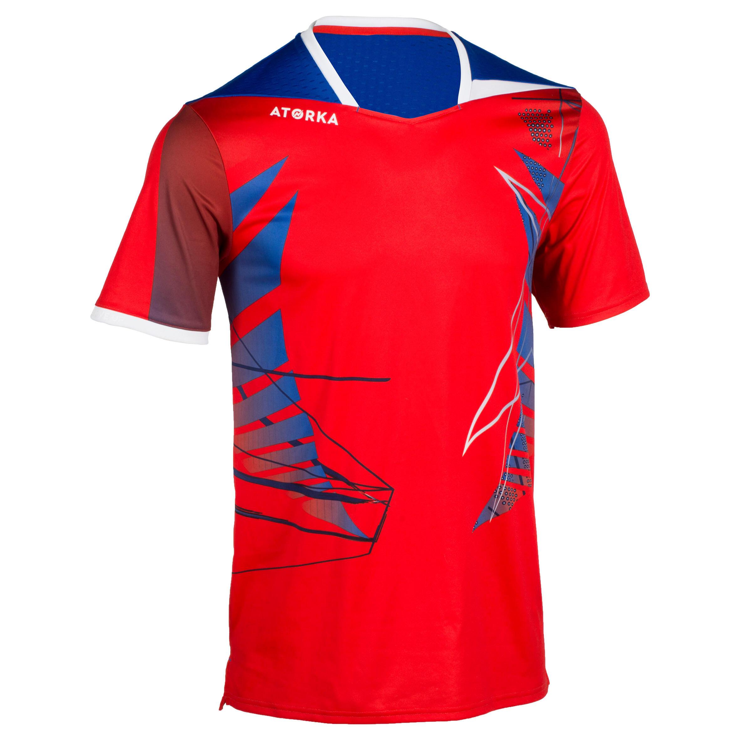 Handballtrikot H500 Herren rot | Sportbekleidung > Trikots > Handballtrikots | Rot | Atorka