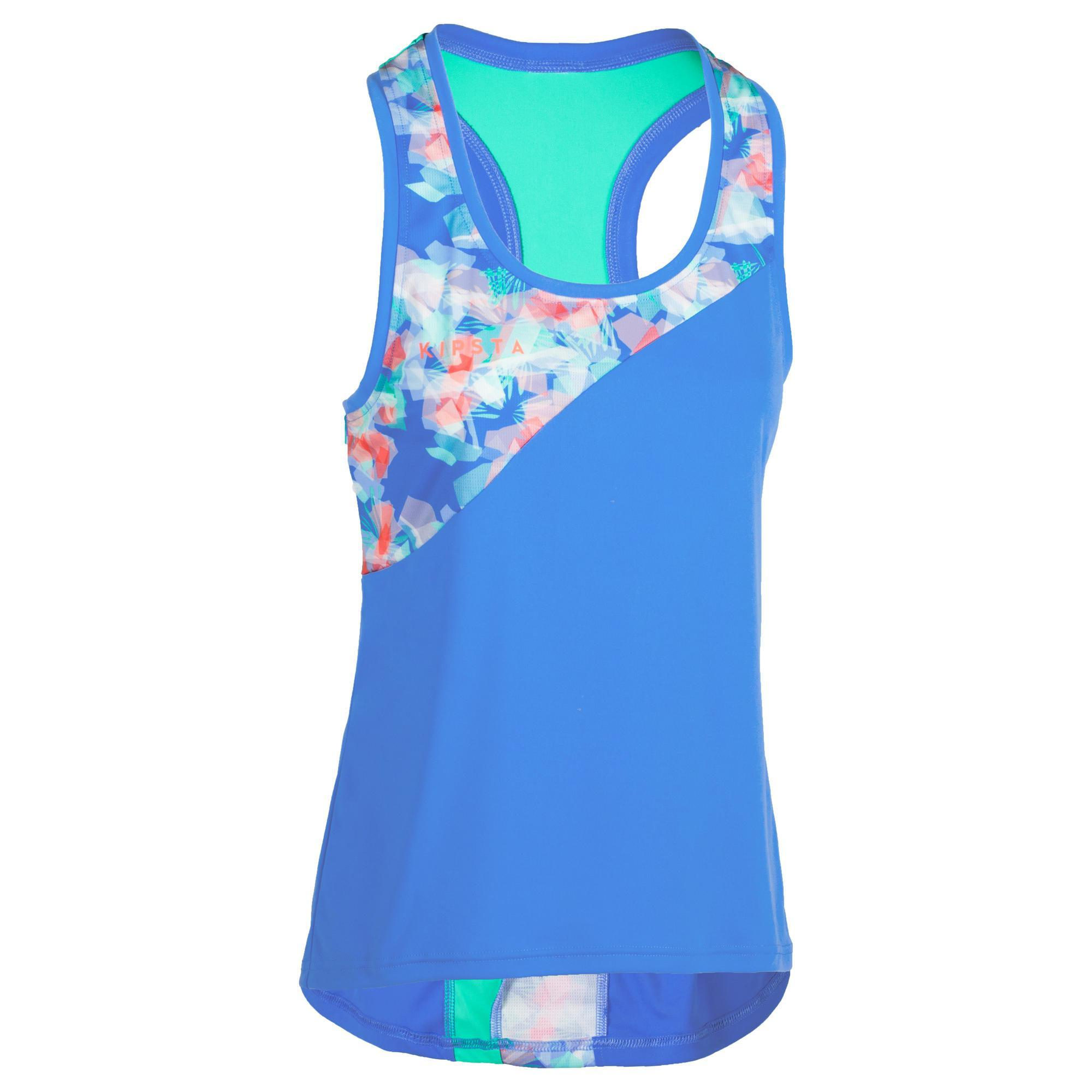Copaya Beachvolleybal shirt BV500 dames blauw
