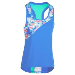 Beachvolleybal shirt BV500 dames blauw