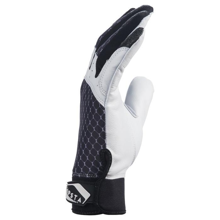 Gants de baseball pour batteur BA 550 noirs