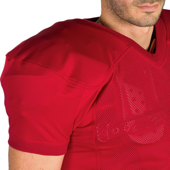 Trikot American Football 550 Erwachsene rot