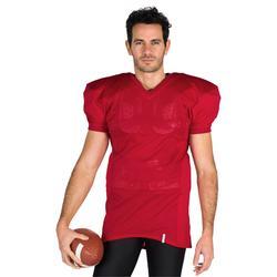 Shirt American football AF 550 voor volwassenen rood