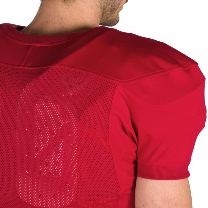 Trikot American Football AF 550 Erwachsene rot