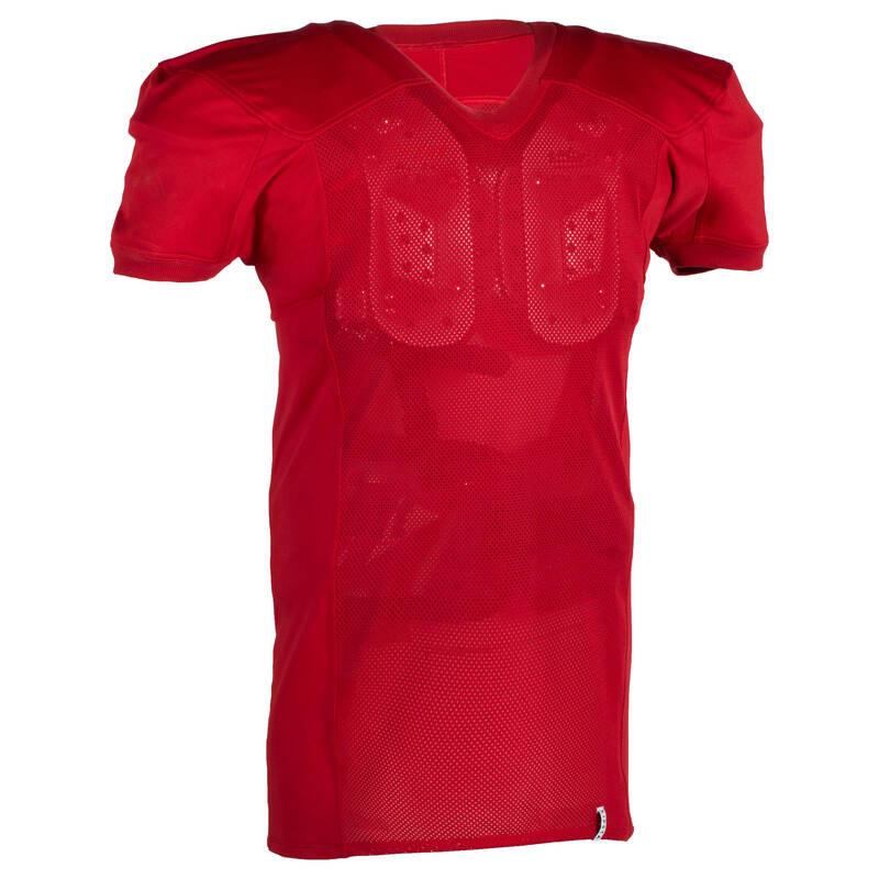 AMERICKÝ FOTBAL Americký fotbal - DRES AF 550 ČERVENÝ KIPSTA - Oblečení a rukavice na americký fotbal