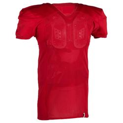 Shirt American football volwassenen AF 550 rood