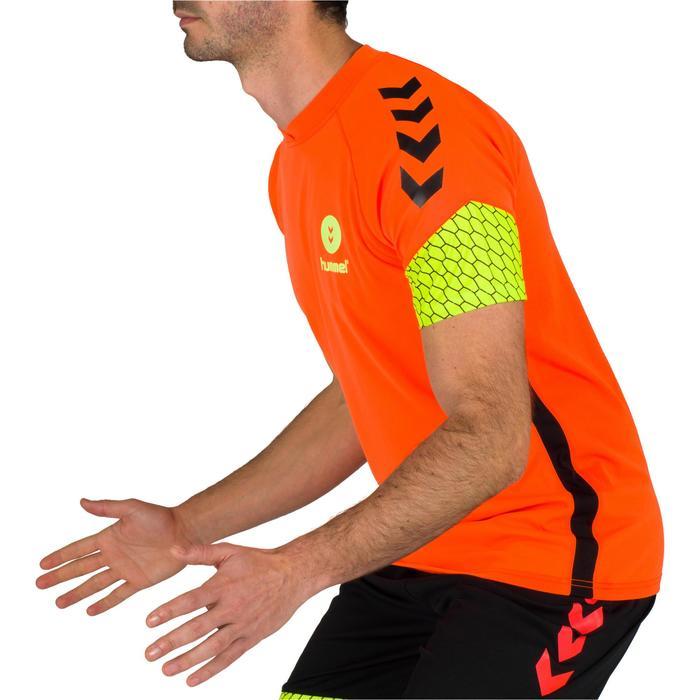 Handbalshirt voor heren oranje / geel