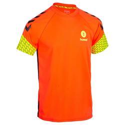 Camiseta de balonmano hombre naranja / amarillo
