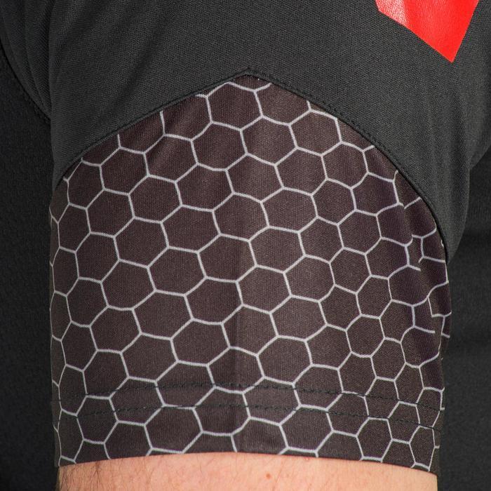 Maillot de Handball adulte Hummel de couleur gris et rouge - 1321157