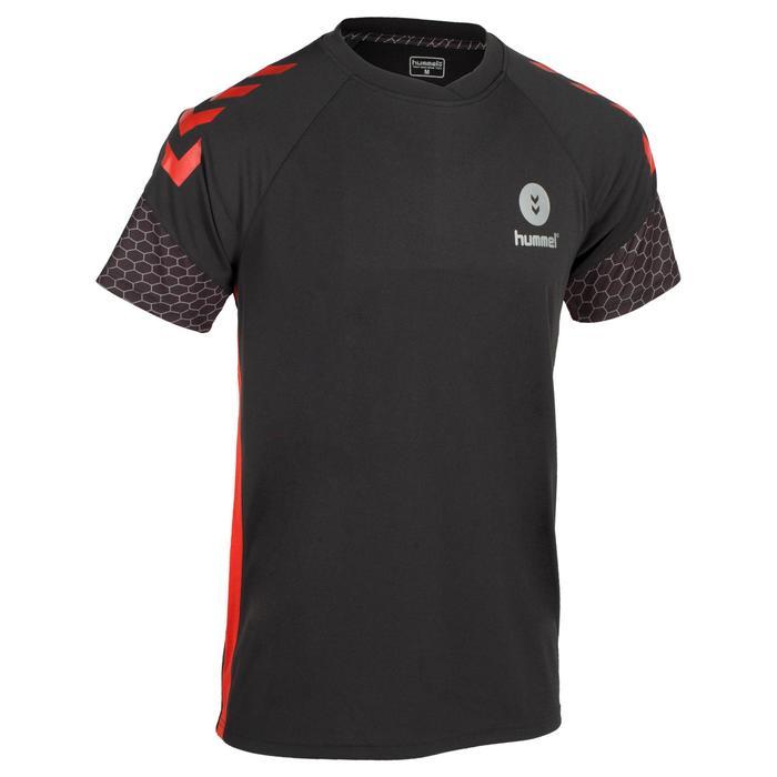 Maillot de Handball adulte Hummel de couleur gris et rouge - 1321159